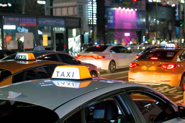 韓国のタクシー